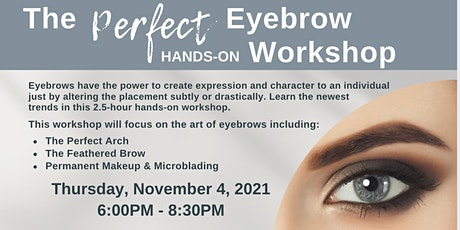 The Perfect Eyebrow Workshop tickets