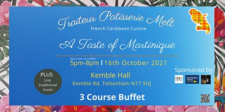 A Taste of Martinique tickets