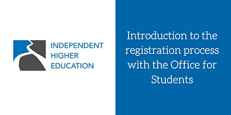 Introduction to the registration process with the Office for Students tickets