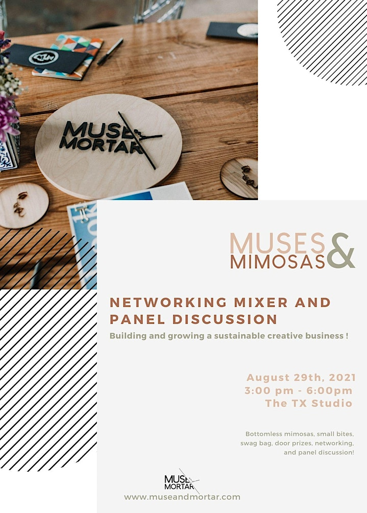 Muses & Mimosas | Networking Mixer and Panel Discussion image