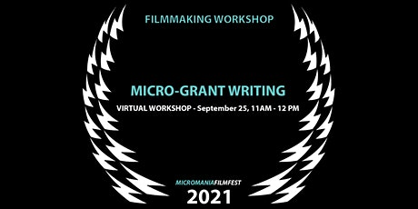 Micro-Grant Writing Workshop tickets