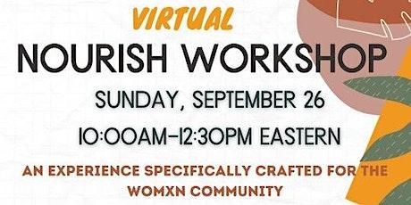 Virtual Nourish Workshop Tickets
