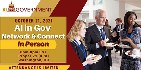 AI in Government: IN PERSON Network and Connect Event tickets