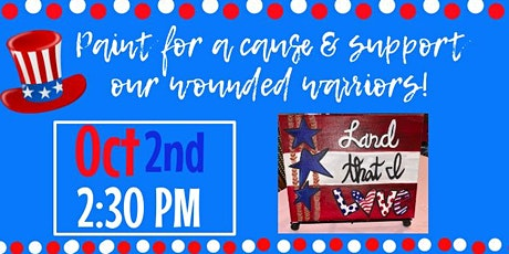 Paint for a cause, wounded warriors! tickets