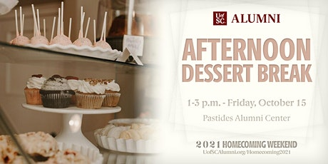 Homecoming 2021: Afternoon Dessert Break tickets