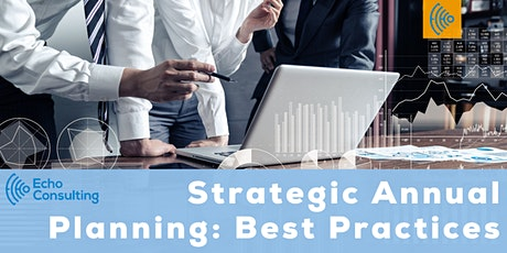 Strategic Annual Planning: Best Practices tickets