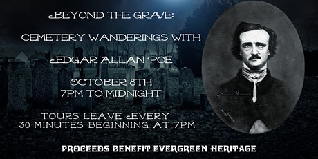 Beyond The Grave: Cemetery Wanderings With Edgar Allen Poe tickets