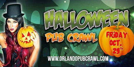 The Halloween Pub Crawl 2021(Orlando) tickets