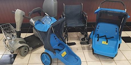 Electric Scooter, Wheelchair & Stroller Rentals - FRIDAYS tickets