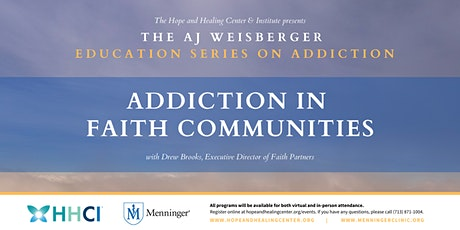 Addiction in Faith Communities tickets