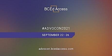 BCEdAccess AdvoCon2021 tickets