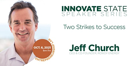 Innovate State: Two Strikes to Success tickets