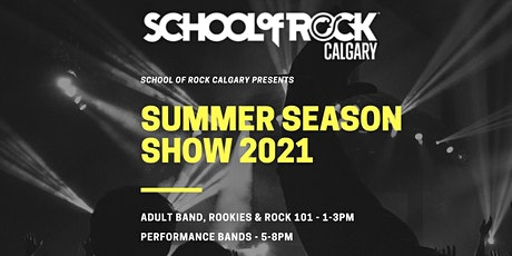 School of Rock Calgary - Summer Season Show  (Evening Show) tickets