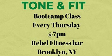 Tone & Fit tickets