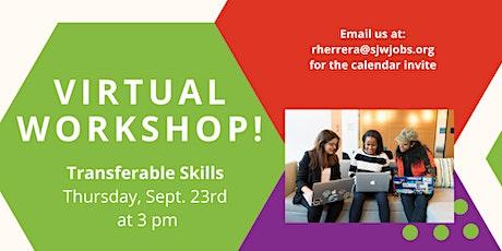 Teen Workforce Initiative -Transferable Skills tickets
