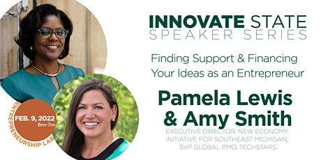 Innovate State: Finding Support & Financing your Ideas as an Entrepreneur tickets