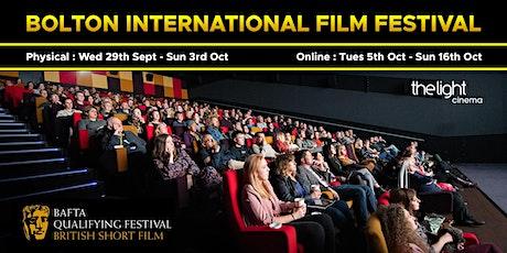 Bolton International Film Festival 2021 tickets