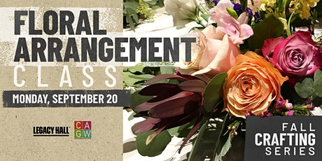 Fall Crafting Series: Floral Arrangements tickets