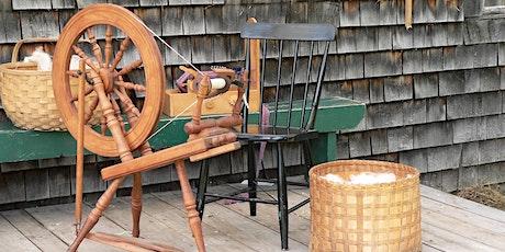 Heirloom Workshop Series: Spinning Wool tickets