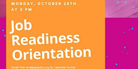 Teen Workforce Initiative - Orientation tickets
