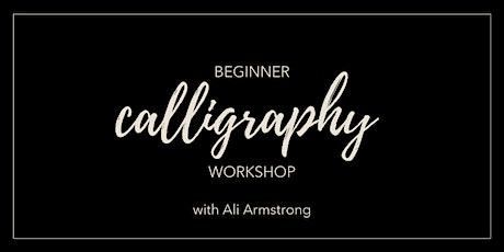 Beginner Calligraphy Workshop | Dalton, Ohio 9am tickets