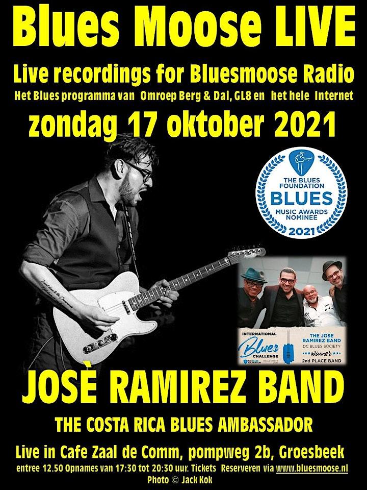Afbeelding van José Ramirez Live at Bluesmoose radio (12,50 betaal aan kassa)