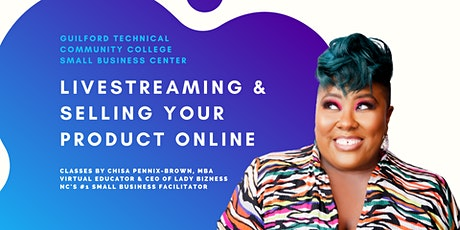 Livestreaming & Selling Your Products Online tickets