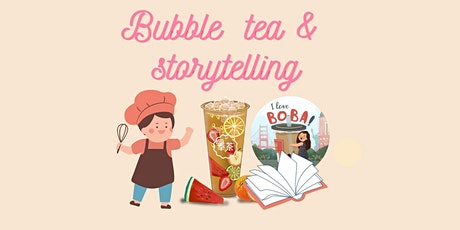 Bubble Tea Making and Storytelling Workshop for Kids (In-person event) tickets