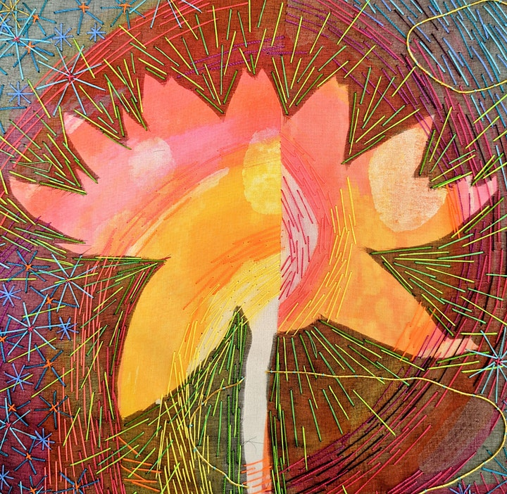 Freestyle Embroidery - Abstract Flower - Workshop image
