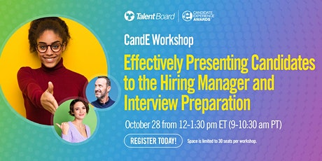 Effectively Presenting Candidates to the Hiring Manager and Interview Prep tickets