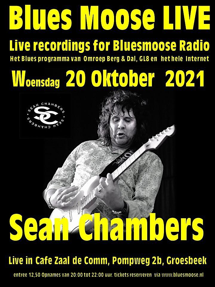 Afbeelding van Sean Chambers live @ Bluesmoose Radio (12,50 betaal aan kassa)