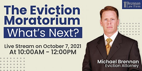 The Eviction Moratorium - What's Next? tickets