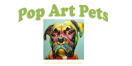Pop Art Pet Portraits Make-and-Take in October tickets