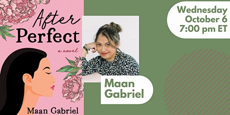 Book launch with Maan Gabriel for AFTER PERFECT tickets