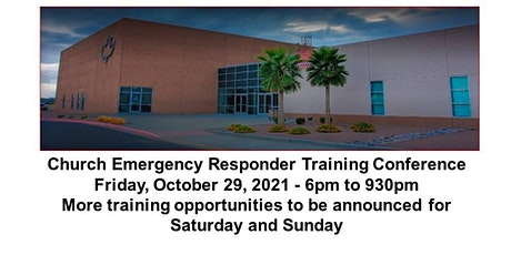 3rd Annual Church Emergency Responder Training Conference tickets