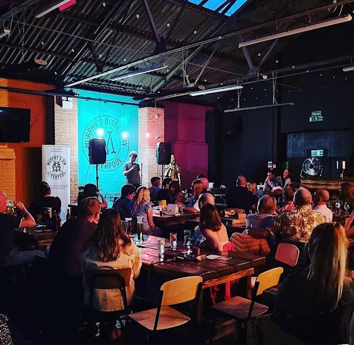 Murphy's Distillery & Bar Comedy Night - 7th October image