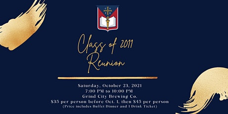 SBA Class of 2011 Reunion- Saturday Event at Grind City Brewing tickets