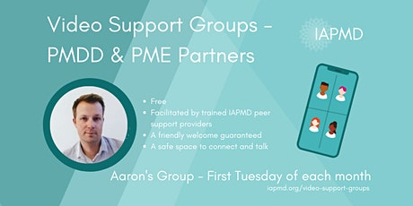 IAPMD Peer Support For Partners (PMDD/PME) - Aaron's Group tickets