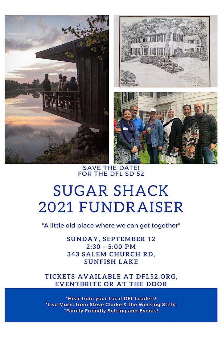 DFL SD 52 Annual Sugar Shack Fundraiser image