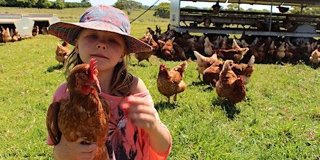 FARM KIDS SCHOOL HOLIDAYS - Chickens Workshop tickets