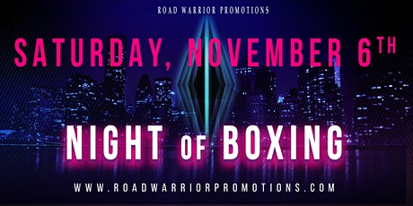 Night of Boxing tickets