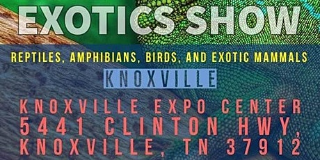 Show Me Reptile & Exotics Show Knoxville, TN tickets
