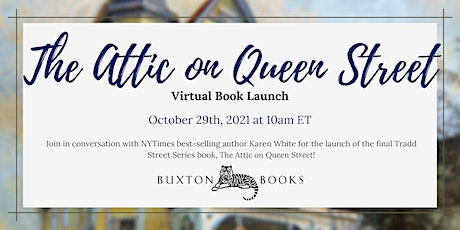 """""""The Attic on Queen Street"""" Virtual Book Launch tickets"""