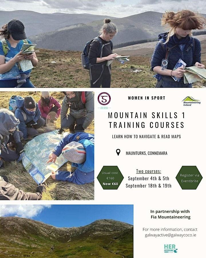 Women's Mountain Skills 1 Training Course image