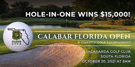 Calabar Florida Open  - A Charity Golf Tournament tickets