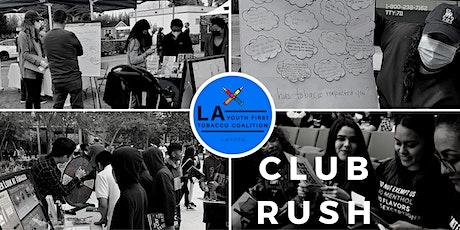 LAYFTC Club Rush / Social- Volunteering and Internship boletos