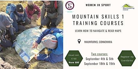 Women's Mountain Skills 1 Training Course tickets