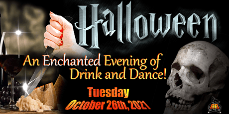 Enchanted Mansion Halloween Party!  OPEN BAR | FREE DRINKS  Costume Contest tickets