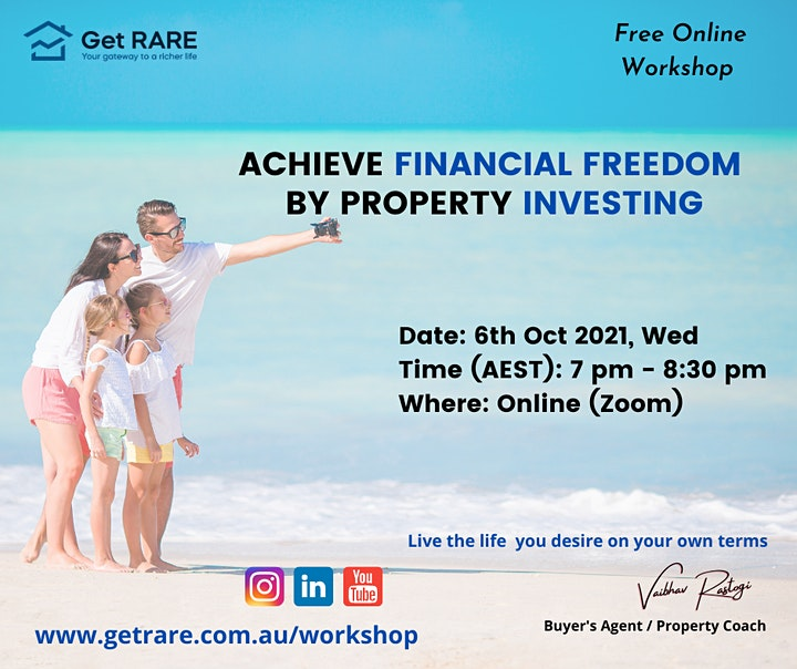 Achieve Financial Freedom by Property Investing image