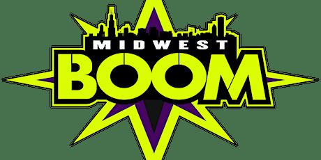 BOOM 7v7 Tryouts - 18u (Wave 2, 10th-11th Grade) tickets